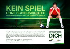 Der FC Tobel-Affeltrangen sucht Schiedsrichter