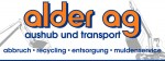 Unser Co-Sponsor Alder AG - Ihr Partner für Aushub und Transporte