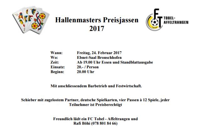 Hallenmasters_Preisjassen